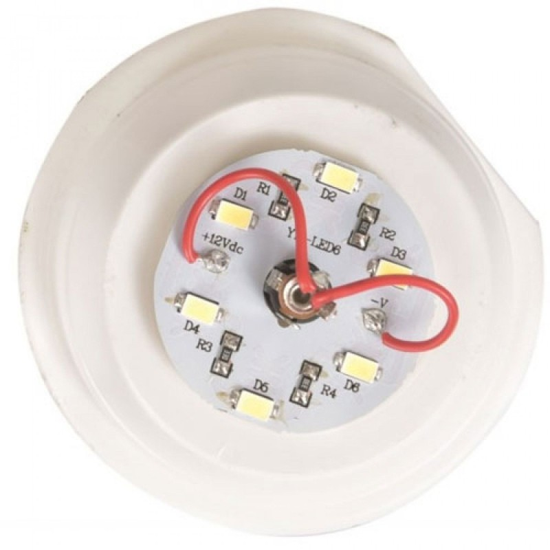 Heico reserve LED fitting 12V 1.5W voor kinderlampen incl. 6 LED's