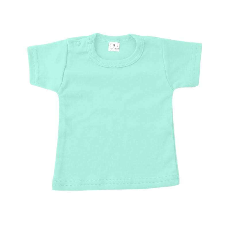 katoen basic t-shirt mint